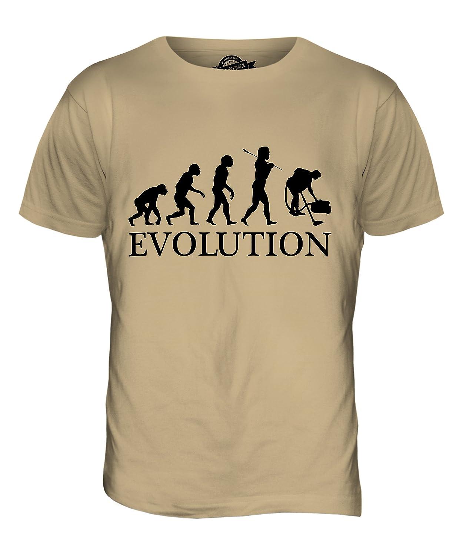 CandyMix Hausmeister Putzfrau Evolution Des Menschen Herren T Shirt:  Amazon.de: Bekleidung