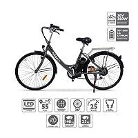 NILOX E Bike X5, Vélo Électrique Mixte Adulte, Noir