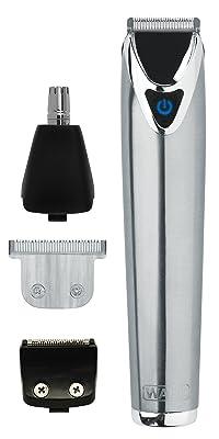 Wahl 9818-800 - Afeitadora corporal, batería Li-Ion, color plateado