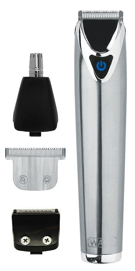 17 opinioni per Wahl- Kit rasoio per capelli e corpo, in acciaio inox, con batteria agli ioni di