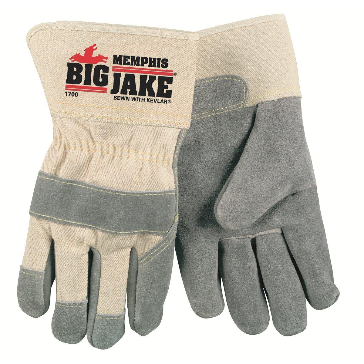 Big Jake® Premium Leather Palm Gloves, Size: Extra Large (1 Dozen)