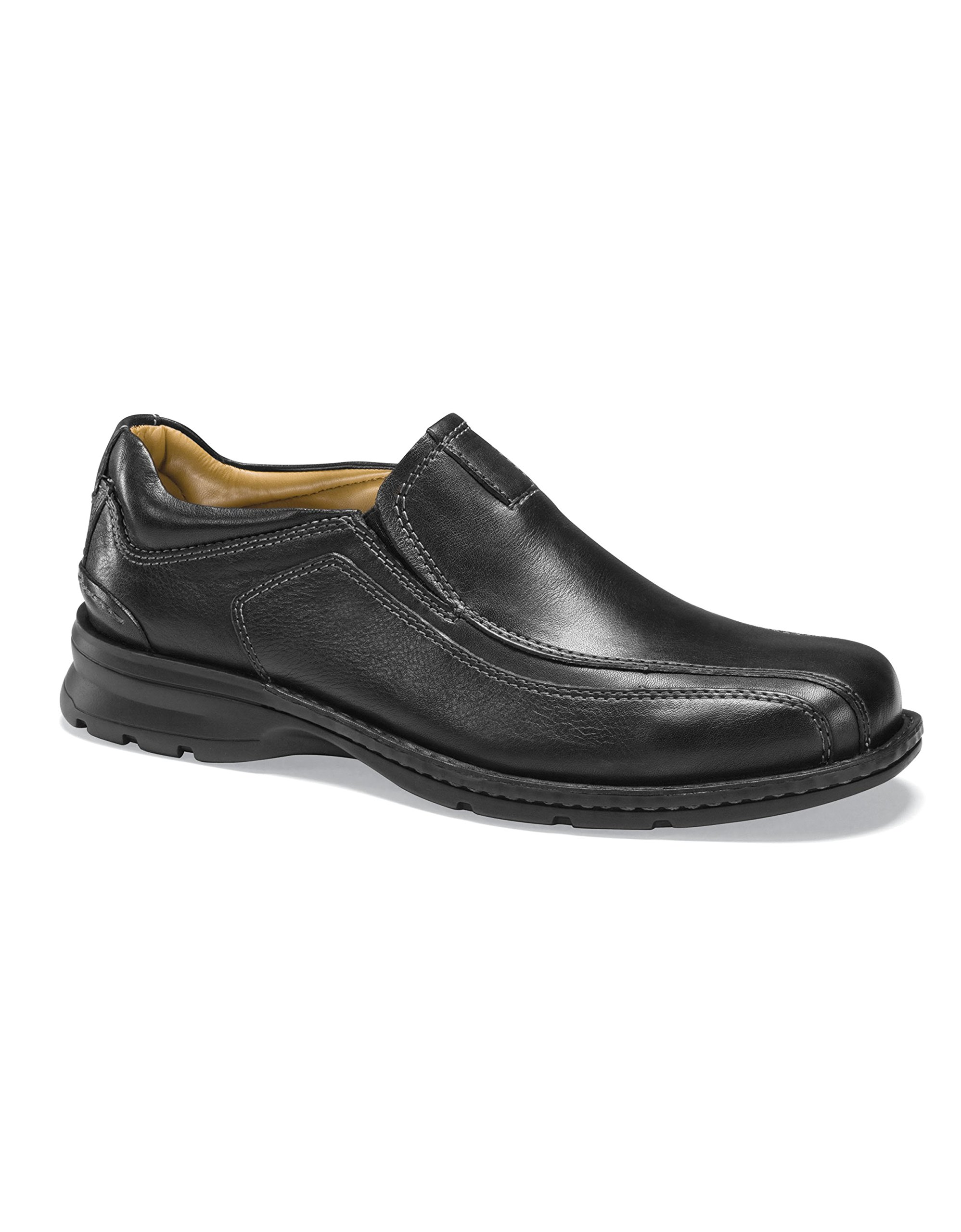 Dockers Men's Agent Slip-On Loafer Black Tumbled 14 W by Dockers