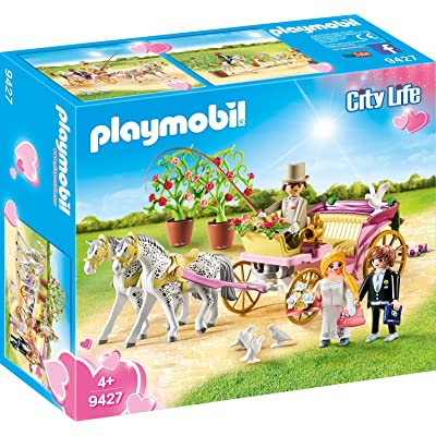 Playmobil- Carruaje Nupcial Juguete, (geobra Brandstätter 9427): Juguetes y juegos