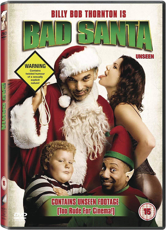 4b5a6476d9abd Bad Santa  DVD   2003   2005   Amazon.co.uk  Billy Bob Thornton ...