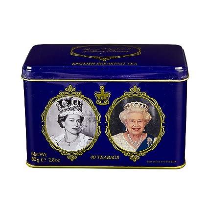 Tea inglesa, 40 desayunos ingleses Tea Teabags in Queen ...