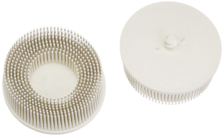 """3M 00048011187372 Roloc Nylon Bristle Disc - Diameter: 3"""", Grit: 120 - Pack of 2"""