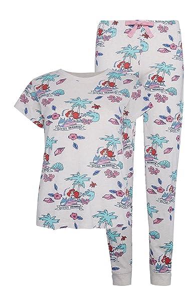 Primark - Pijama - para Mujer Beige marrón Claro Large 42-44