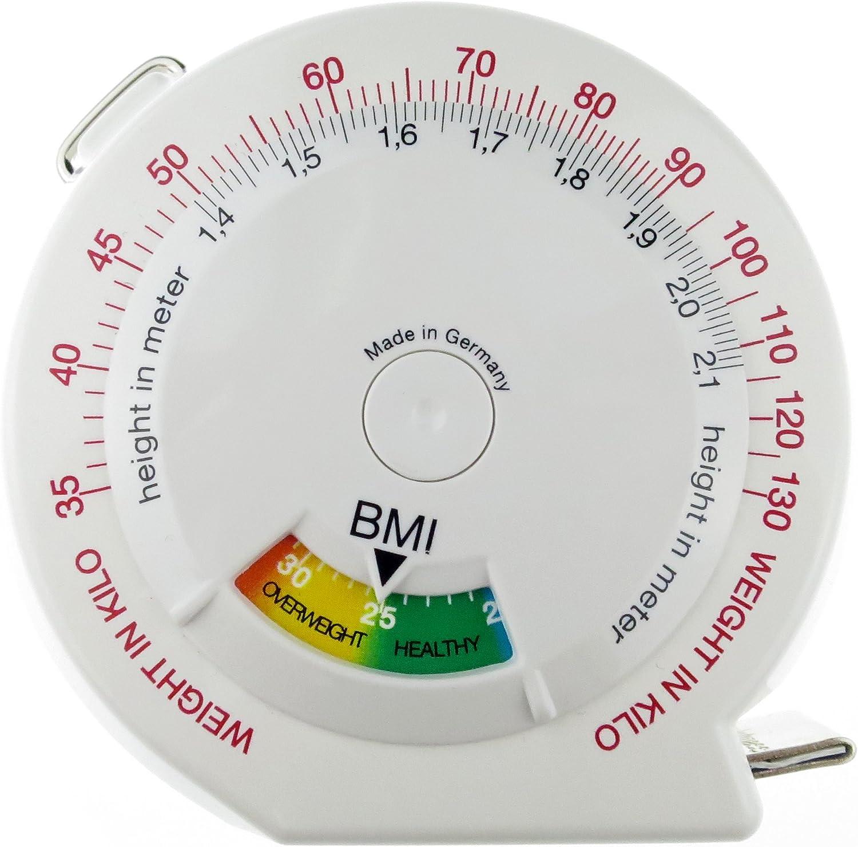 hoechstmass Balzer Leo 2m BMI M/ètre Ruban ABS Blanc 7,5 cm