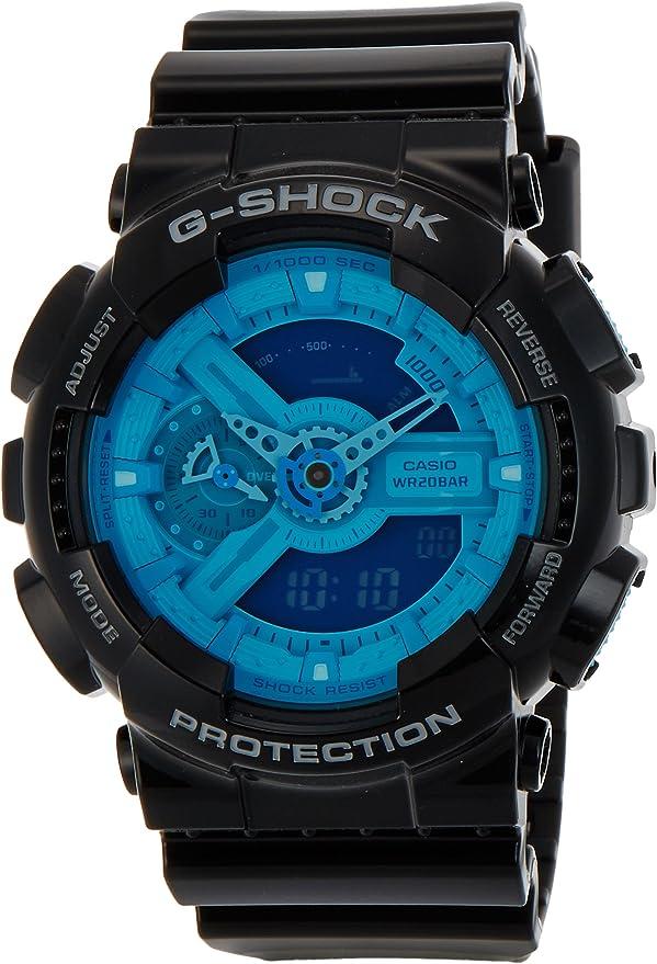 CASIO G-SHOCK Gショック ジーショック GA-110B-1A2DR ハイパーカラーズ デジアナ 海外モデル 腕時計 メンズ