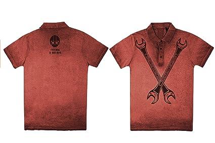 Polo Freedom Rojo XL: Amazon.es: Coche y moto