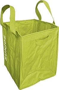 Sun Joe SJLB70HD 70-Gallon Jumbo Heavy-Duty All-Purpose Garden Leaf and Debris Bag, Green