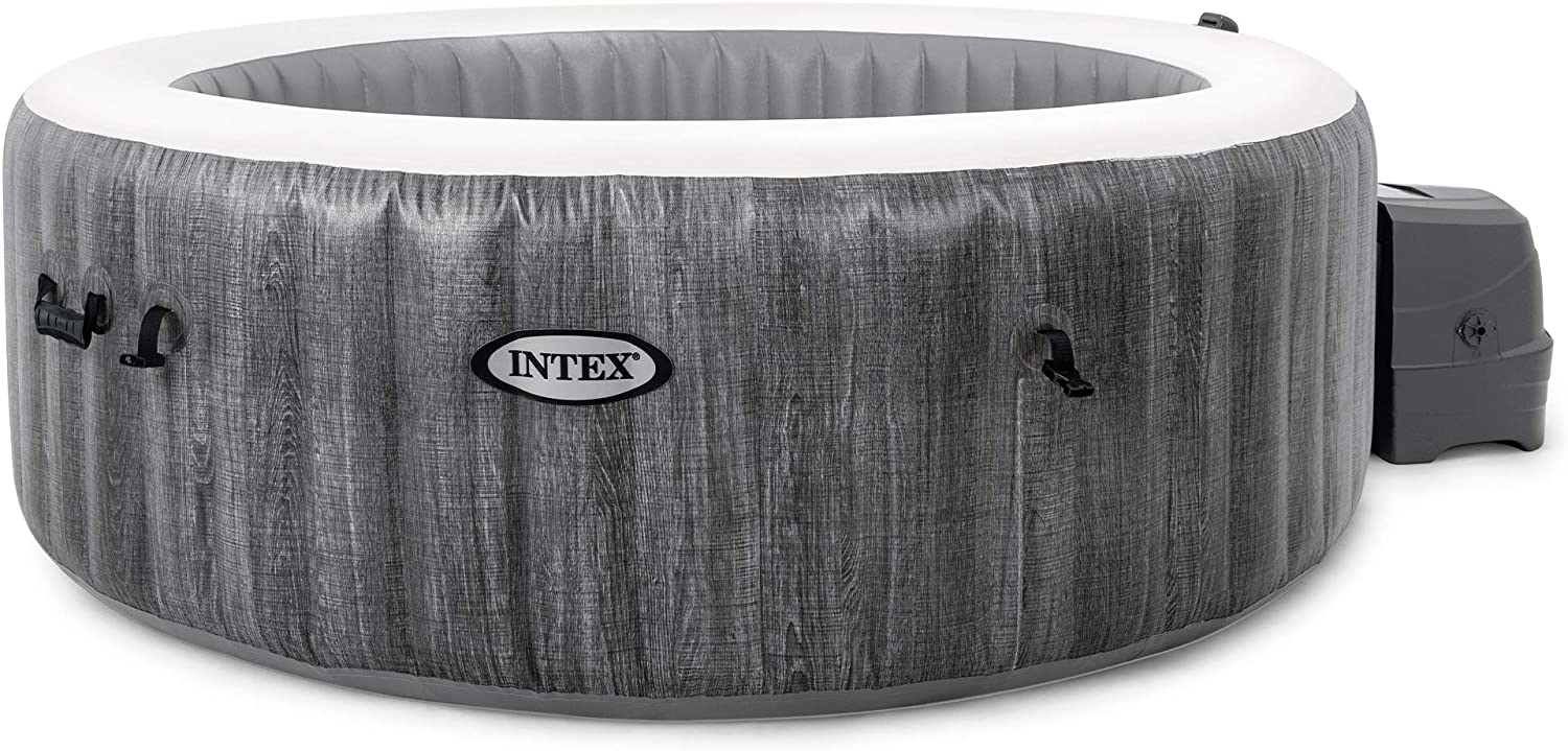 Intex  4 Person Outdoor  Inflatable Hot Tub