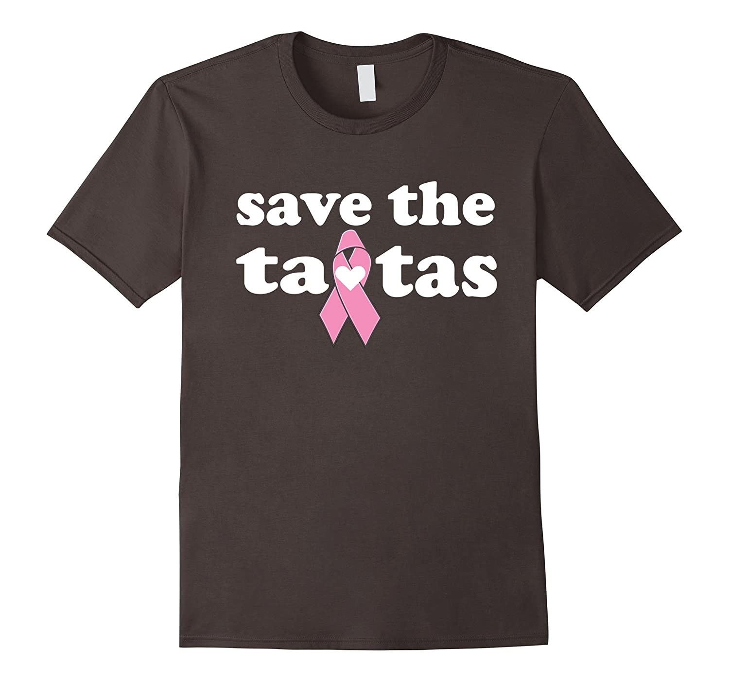 Breast Cancer Awareness Gift T-shirt Save The Ta-tas-RT