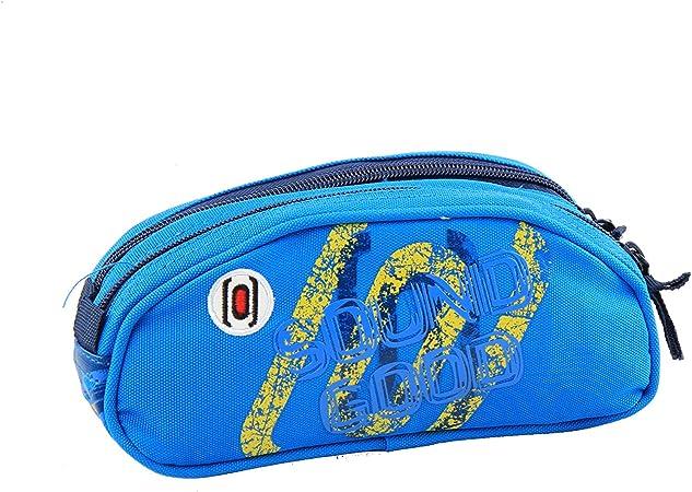 Jacob & Co. Estuche Doble Pencilcase Outsider, 22 cm, Color Azul: Amazon.es: Equipaje