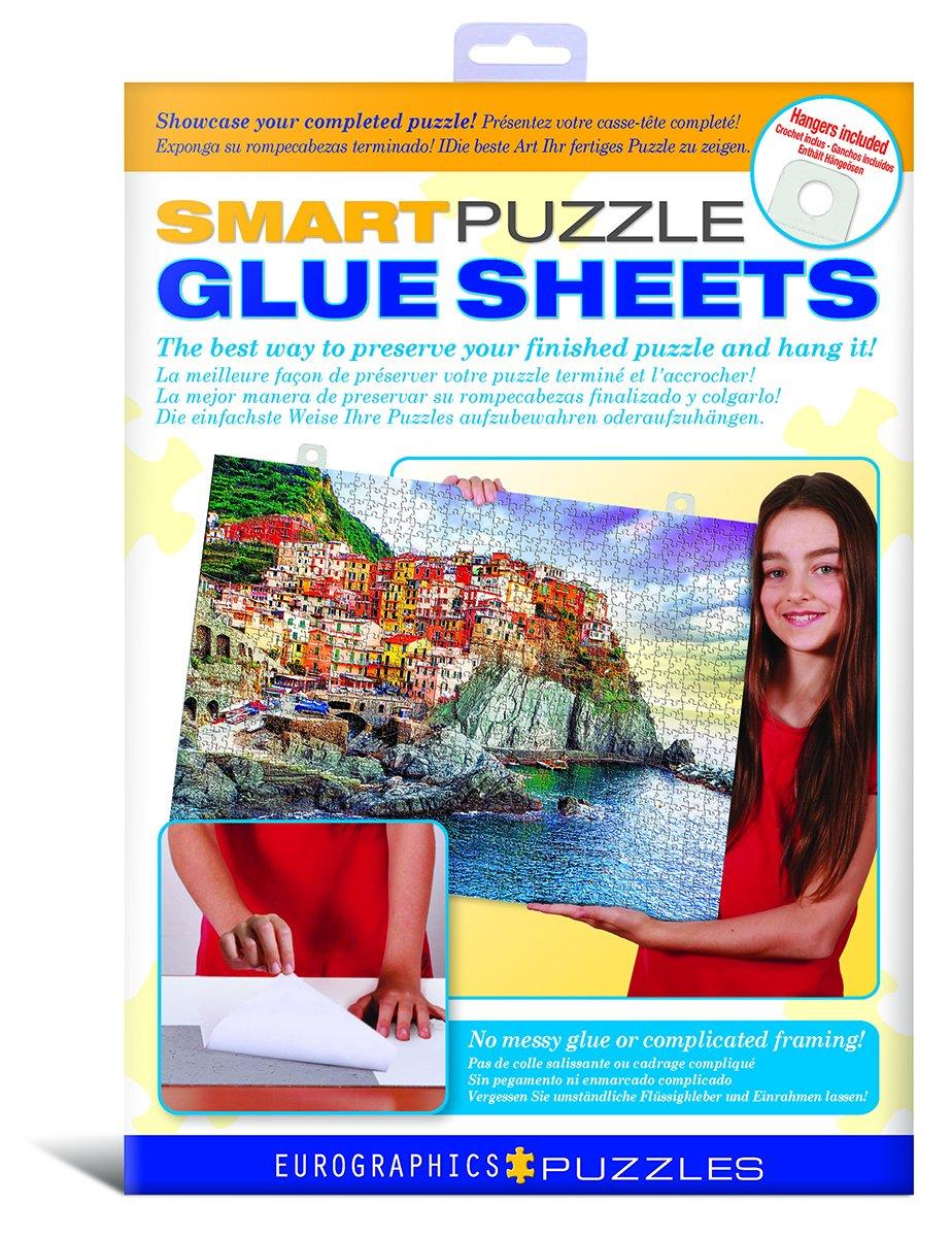 Amazon.com: Smart Puzzle Glue Sheets: Toys & Games