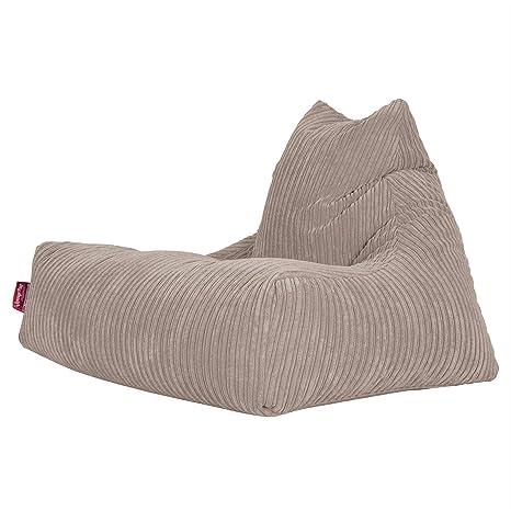 Lounge Pug®, Puff Pera Relajarse, Pana Clásica - Visón ...