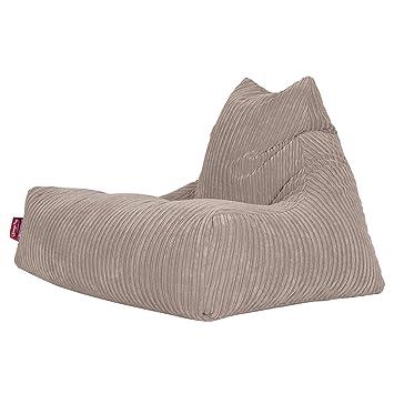 Amazonde Lounge Pug Sitzsack Lounge Sessel Cord Nerzfarben