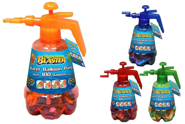 Toyland/® La bomba de globo Hydro tormenta Blaster Agua roja con 100 globos multicolores Conjunto
