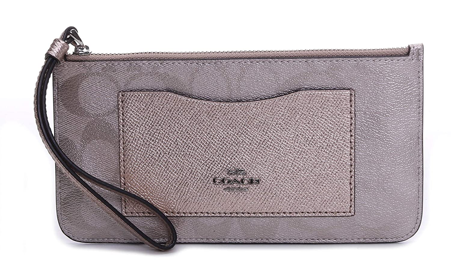 Coach Women's ZipTop Wallet...