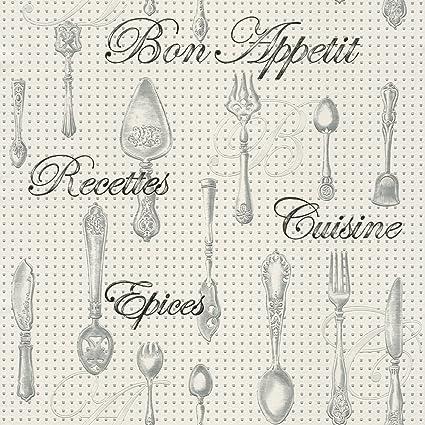 New Luxury Rasch 828108 - Carta da parati per cucina fustellata con ...