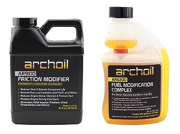 Archoil - Kit de mejora de rendimiento P-1 para todos los vehículos, solución a problemas de fricción estática: Amazon.es: Coche y moto