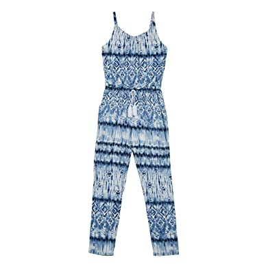 23adcf2cd748 Amazon.com  Amy Byer Girls  Big Sleeveless Jumpsuit  Clothing