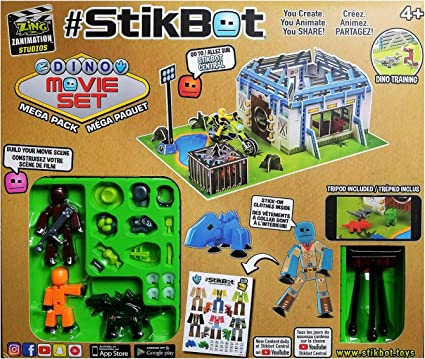 Green, Weapon Pack #StikBot Action Pack Figure Roleplay Accessory Set