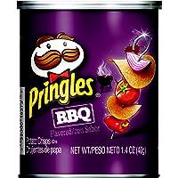 Pringles Potato Crisps Chips, Bbq, 1.4oz (12 Count)