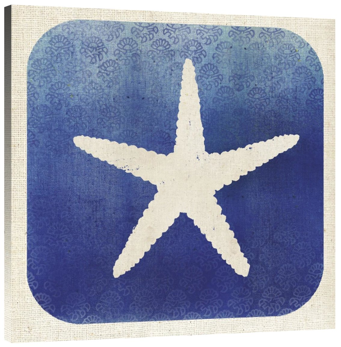 Global Gallery Studio Mousseau Watermark Starfish Giclee Stretched Canvas Artwork 30 x 30