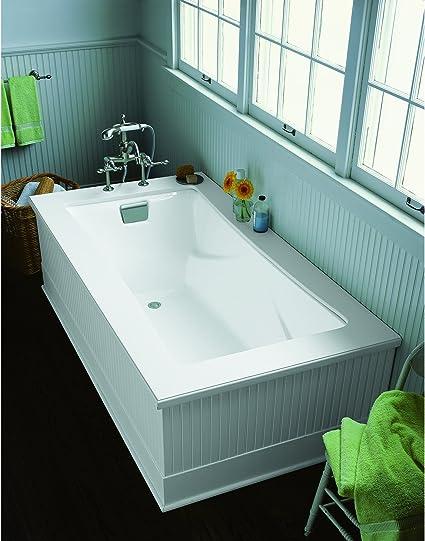 Kohler 863 0 K 863 0 Tea For Two 6 Foot Bath White 60 Or More Gallons Freestanding Bathtubs Amazon Com