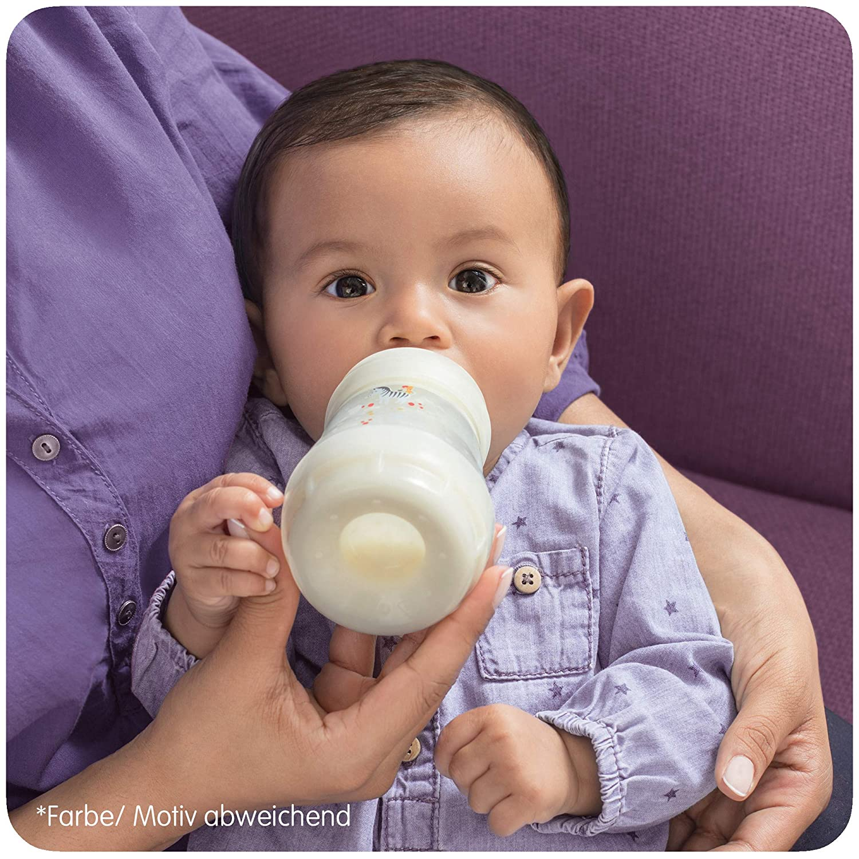 Botella de beb/é con v/álvula anti-c/ólicos Neutral 160 ml MAM Babyartikel 66319220