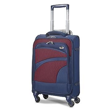 Aerolite Maleta Equipaje de Mano Cabina Ligera con 4 Ruedas, 55cm (Azul Marino): Amazon.es: Equipaje