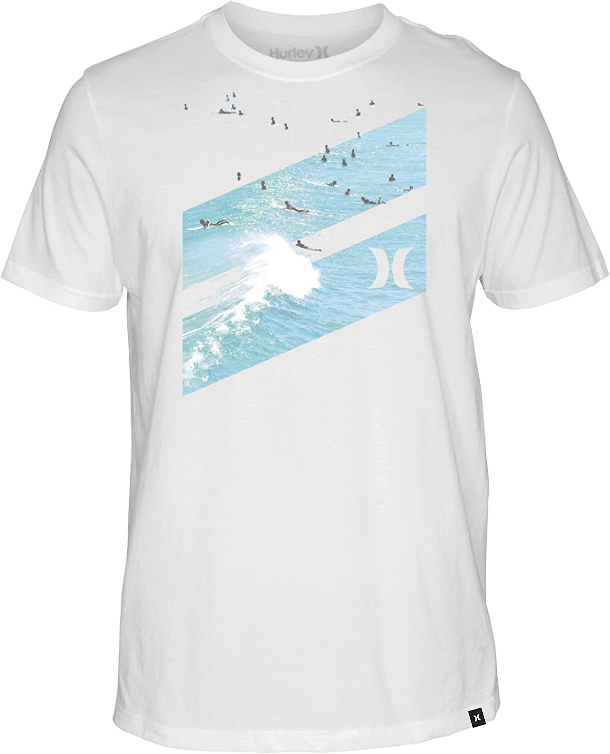 Boy/'s Hurley Surfer Skater Graphic Logo T-Shirt Size L or XL New