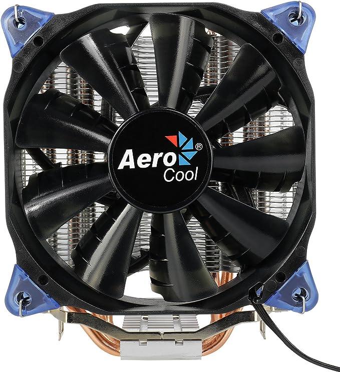 Aerocool VERKHO 4, disipador de PC, HCCT, ventilador 12 cm, HCCT ...