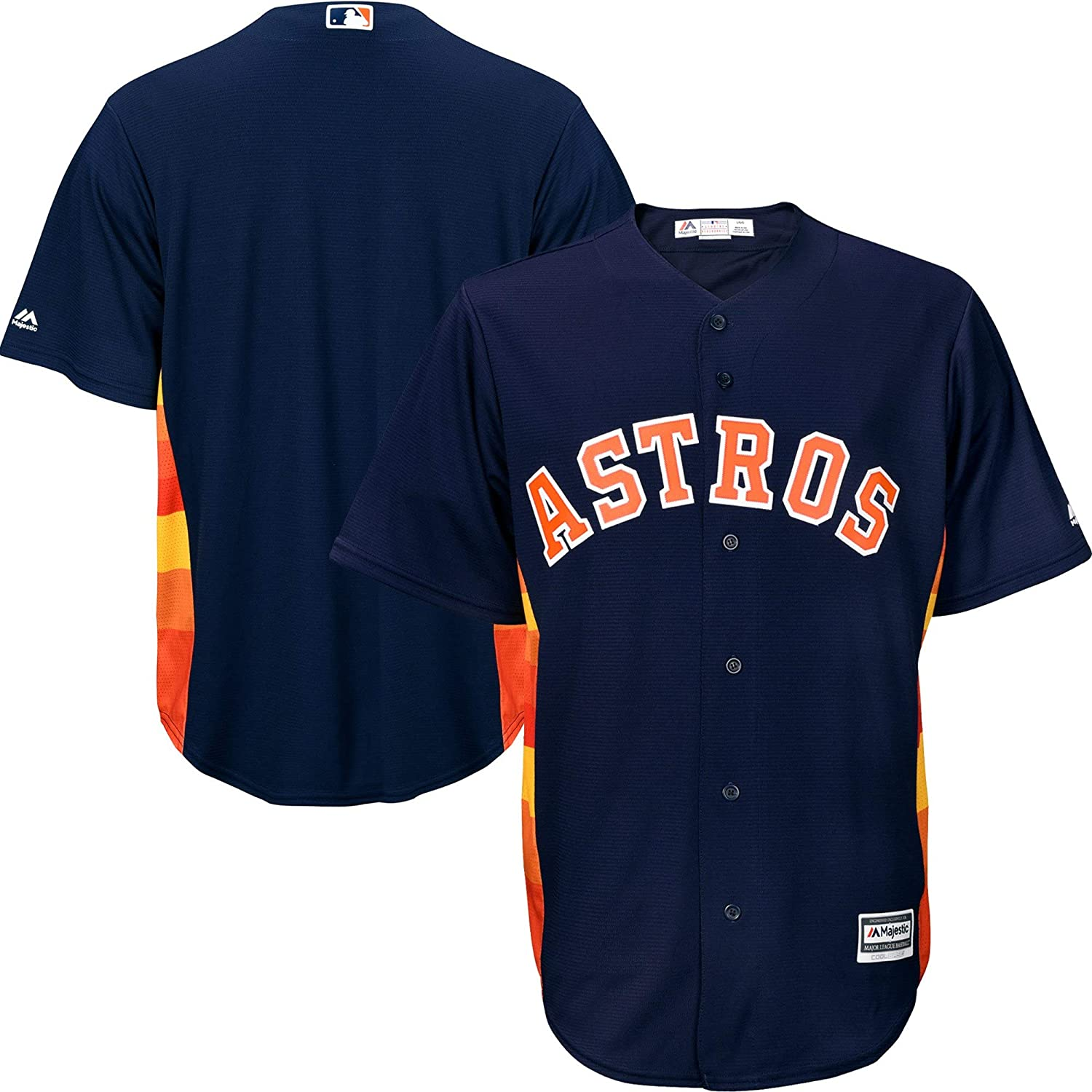5c1ce0725 Amazon.com   Outerstuff Houston Astros Blank Navy Toddler Cool Base  Alternate Team Jersey   Sports   Outdoors