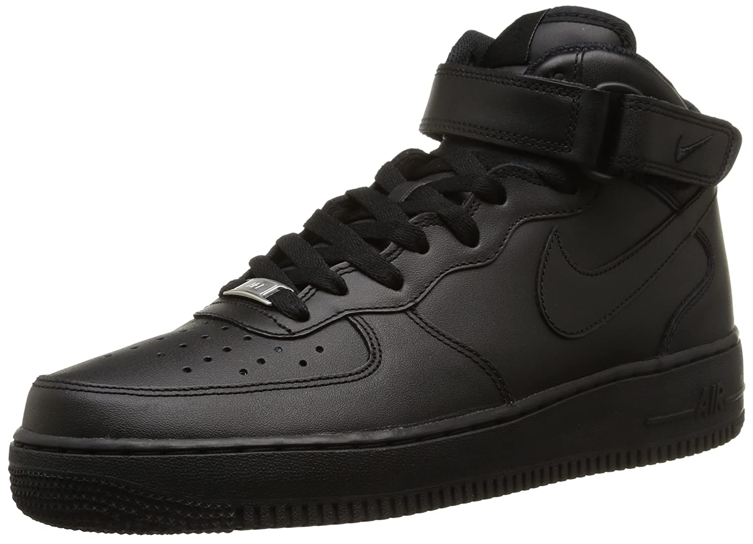 Nike Air Force 1 Mid '07 Men's B000VWQSRG 7 M US|Black / Black