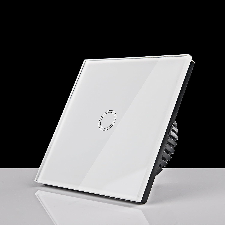KKIWI 110V-240V Touchscreen Wasserdichter Lichtschalter, BS051 1-Weg ...