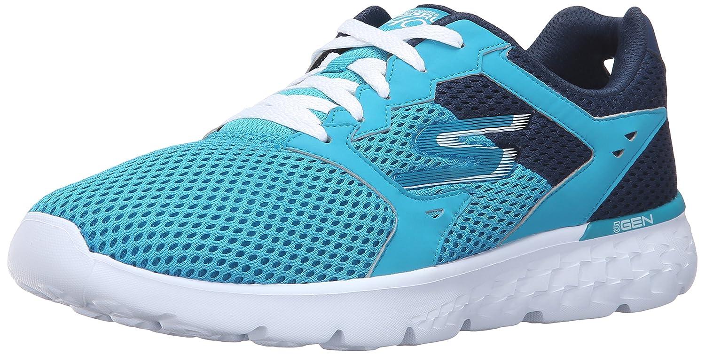 Skechers Performance Women's Go Run 400 Running Shoe B019J7E4F6 5 B(M) US|Teal/Navy