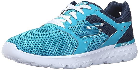Buy Skechers Women's Teal/Navy Sneakers