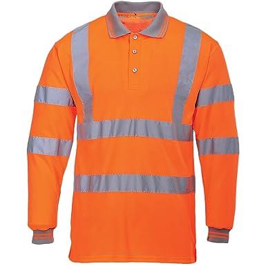 MyShoeStore Hochsichtbar Sichtbar Hohe Sichtbarkeit Poloshirt  Reflektierendes Band Sicherheit Sicherheitsarbeit Taste T - Shirt  Atmungsaktive Top ...