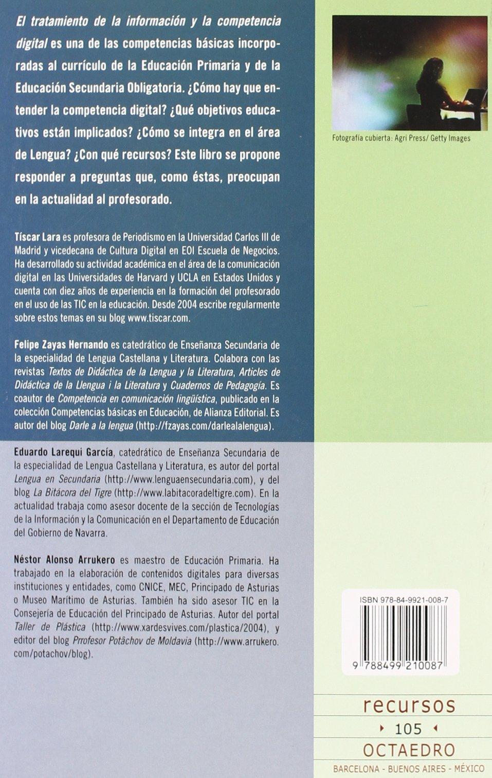 Libro La competencia digital en el área de Lengua