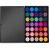 MORPHE Pro 35 Color Eyeshadow Makeup Palette GLAM - Professional eyeshadow palette with intense pigment