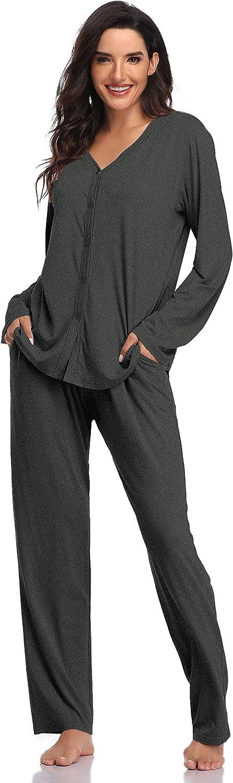 Ropa De Dormir Shekini Pijamas Mujer Modal 2 Piezas Pijama Manga Larga Pantalones Suaves Y Comodos Ropa Lekabobgrill Com