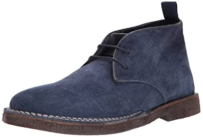 33ed8bf5e01 Steve Madden Men s Logik Chukka Boot Navy Suede 10.5 US US Size Conversion M  US