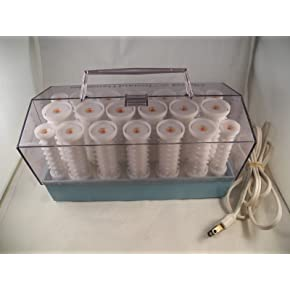 Clairol 20 Instant Hairsetter Hot Rollers