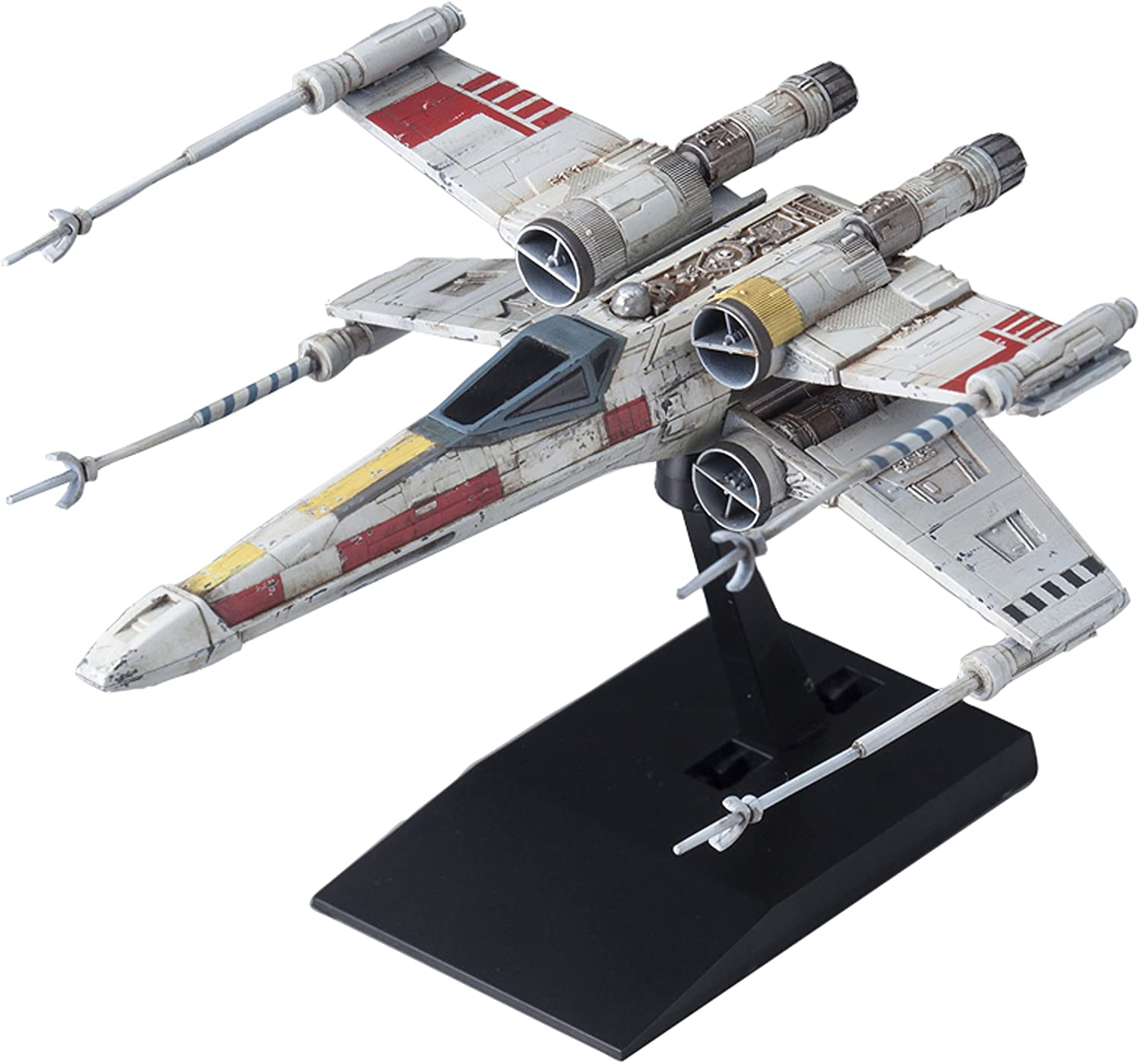 Japan Action Figures - Vehicle model 002 Star Wars X-wing starfighter Plastic *AF27* by Bandai