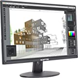 "Sceptre E275W-19203R 27"" Ultra Thin 1080P LED Monitor 2X HDMI VGA Build-In Speakers, Metallic Black 2018"