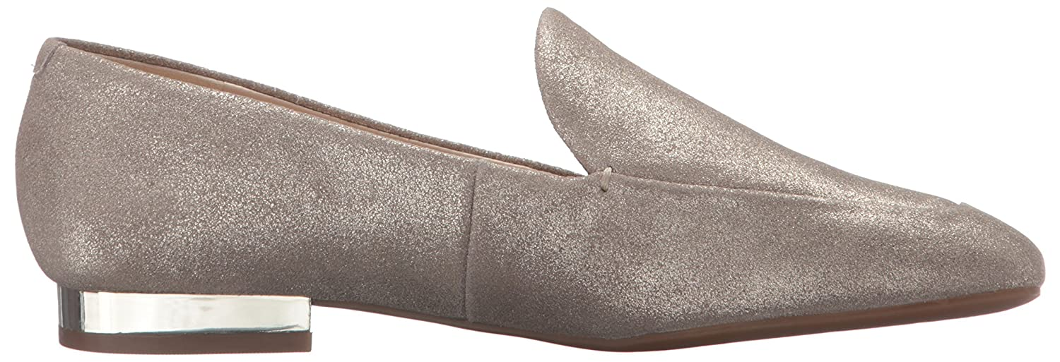 Nine West Women's Xalan Metallic Ballet Flat B01ENT5UK8 7 B(M) US|Natural/Gold