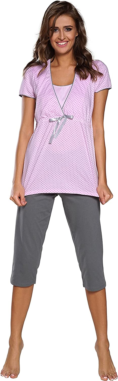 Italian Fashion IF Pigiama Premaman Due Pezzi F2L3C3T1 0225