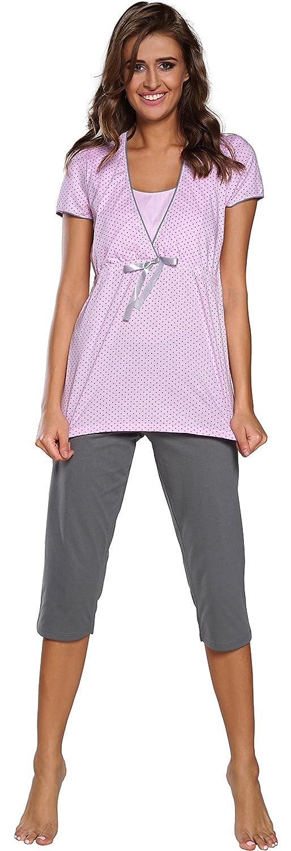 Italian Fashion Womens Nursing Pyjama Felicita 0225
